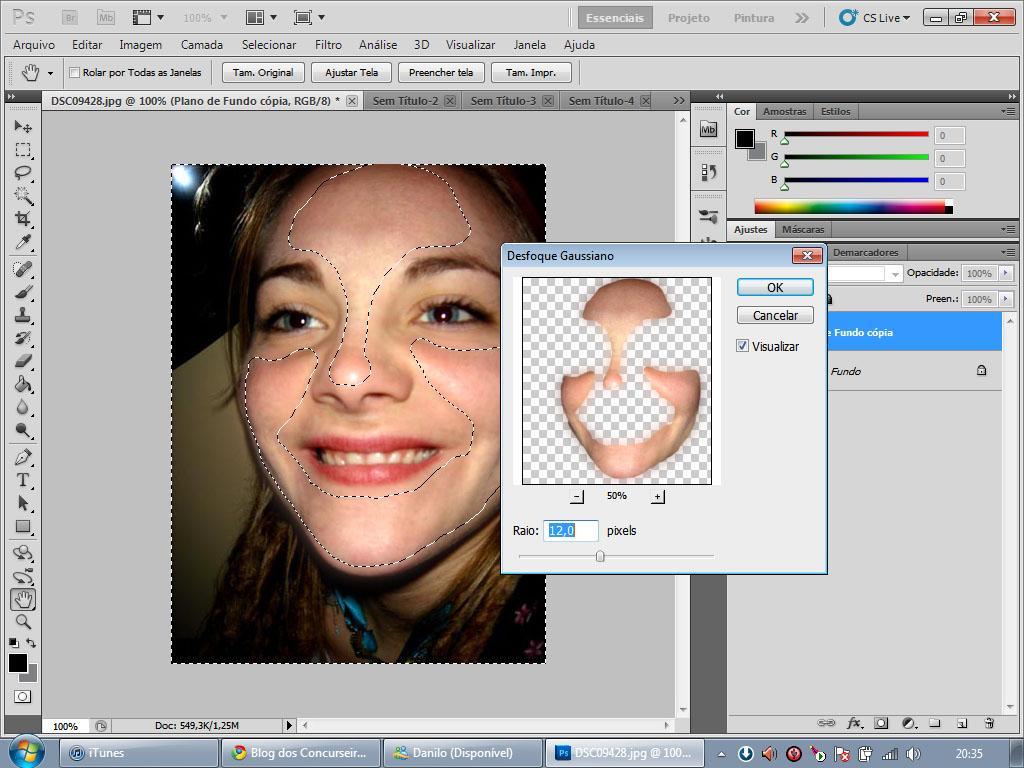 Photoshop Limpeza De Pele E Efeito De Maquiagem Blog Do Multiuso