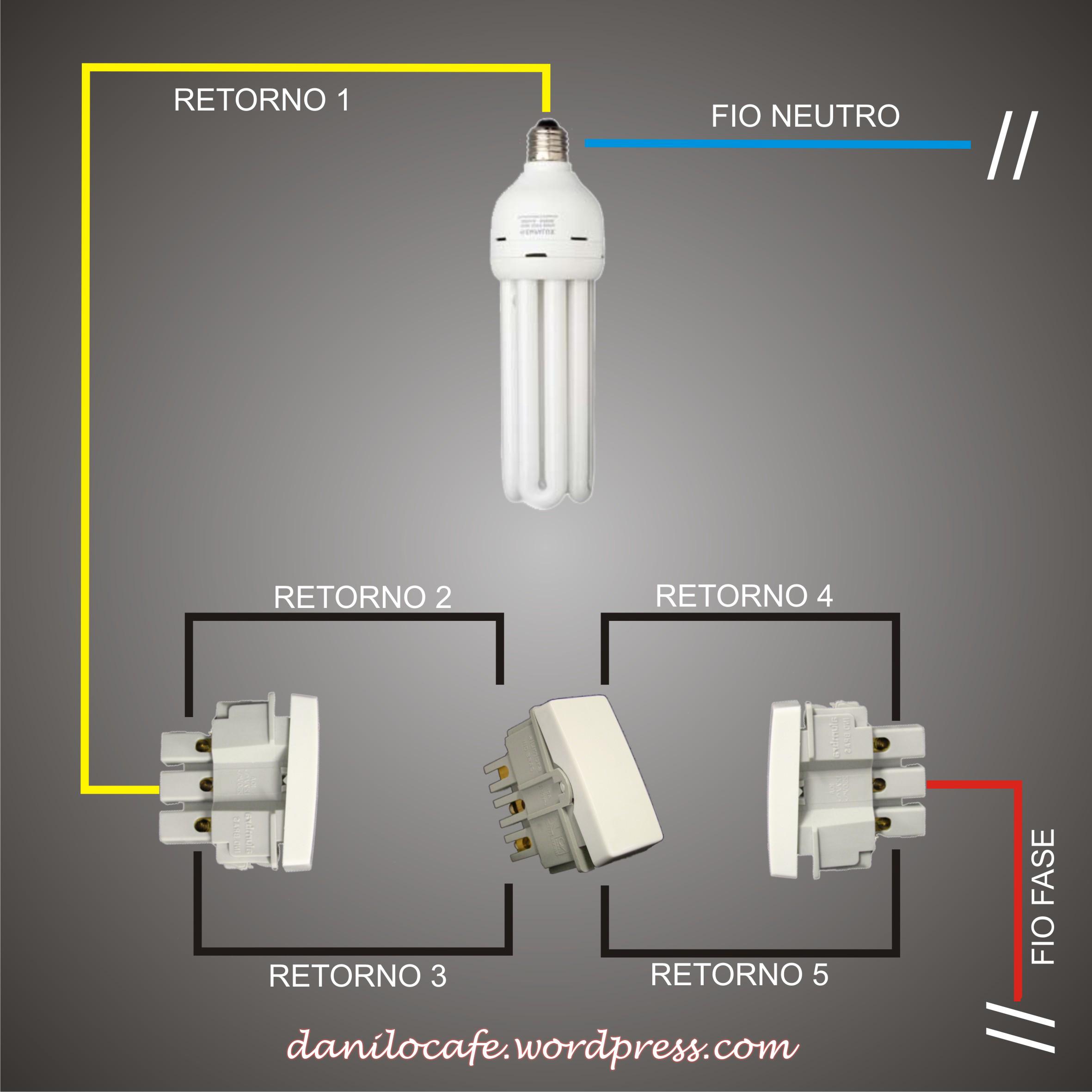 Eletricidade residencial como instalar um interruptor - Tipos de interruptores de luz ...